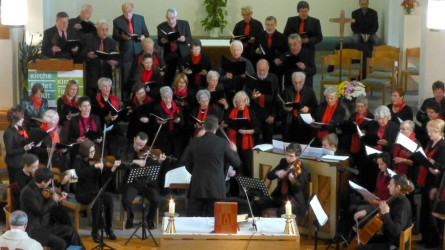 Der Chor während einer Messe