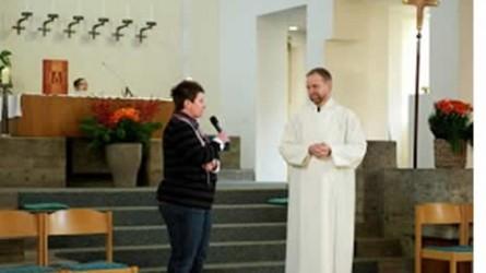Bild eines Gottesdienstes in der Kirche
