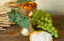 Kommunion - Brot und Wein