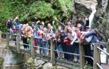 Gruppenfoto der Minis von Winterthur und Umgebung im Wochenendausflug 2013